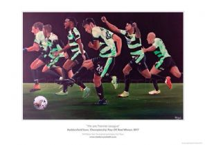 Huddersfield Town - We Are Premier League - unframed A3 Print
